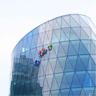 Čistenie budovy Eurovea Galleria